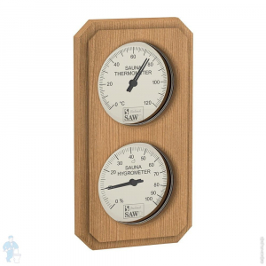 Термогигрометр SAWO вертик., кедр, 221-ТНVD