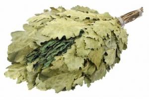 Веник дубовый с мятой в инд. упаковке