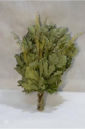 Веник дубовый с полынью в инд. упаковке